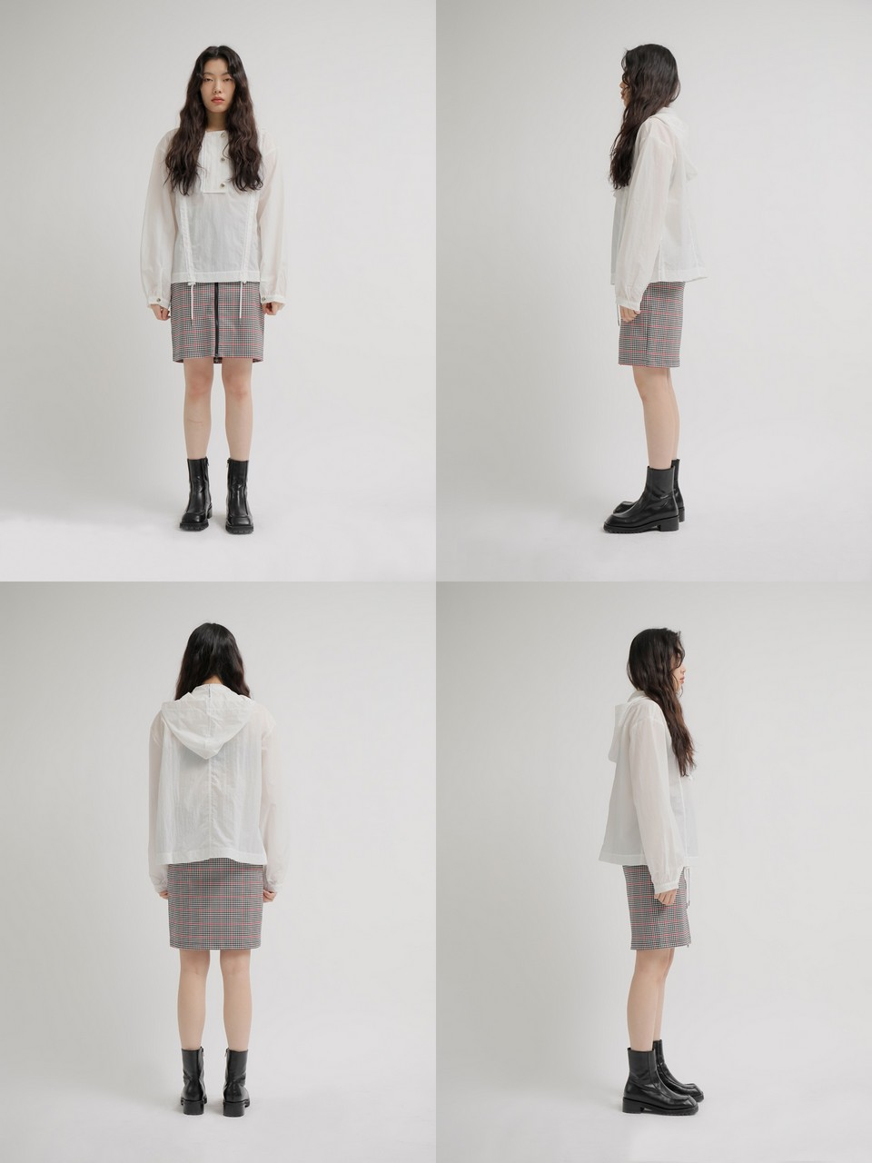 느와(NOIR) Two Skirt